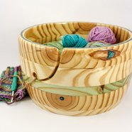 XXL Yarn Bowl, Perfect for Bigger Knitting or Crochet Projects.
